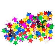 Konfety mini, hviezdy, mix farieb - Párty doplnky