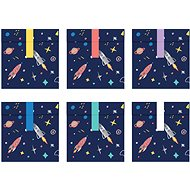 Párty sáčky na sladkosti, 13x14cm, Space, 6ks - Párty doplnky