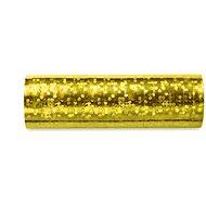 Serpentýny holografické, 3,8m, zlaté, 18ks - Párty doplnky