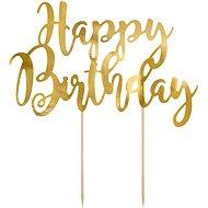 Zapichovací ozdoba na dort, Happy Birthday - Dekorácia na tortu
