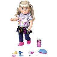 Staršia sestrička BABY born Soft Touch, blondínka, 43 cm – online balenie - Bábika