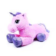 Rappa veľký plyšový jednorožec ružový Poki 85 cm - Plyšová hračka