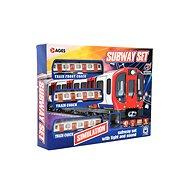 Metro/vlak/električka s koľajami