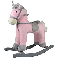 Kôň hojdací ružový jednorožec - Húpadlo