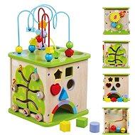 Drevená interaktívna skrinka sun baby - Drevená hračka