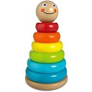 Drevená pyramída sun baby - Drevená hračka