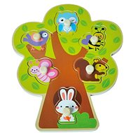 Dřevěné puzzle sun baby AB6372, E01.026.1.1 - Drevené Puzzle