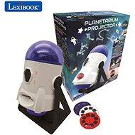Lexibook 360° Hviezdny projektor s obrázkami a mapami