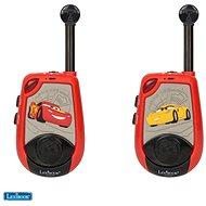 Lexibook Cars Digitálne vysielačky – 2 km s funkciou Morseovej abecedy