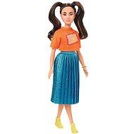 Barbie modelka – žiarivé šaty - Bábika