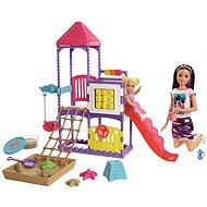 Barbie pestúnka na ihrisku herná sada - Bábika