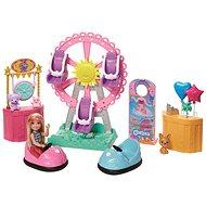 Barbie Chelsea na kolotočoch herná sada - Bábika