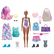 Barbie color reveal Barbie so zvieratkom asst - Bábika
