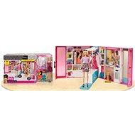 Barbie šatník snov s bábikou - Bábika