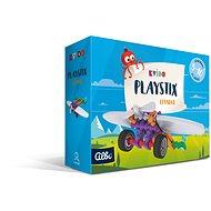Vedomostná hra Kvído – Stavebnica Playstix – nakladač 26 dielikov - Vědomostní hra