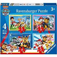 Ravensburger  030651 Labková patrola 4 v 1 - Puzzle