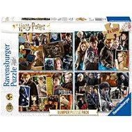 Ravensburger  068326 Harry Potter sada 4× 100 dielikov - Puzzle