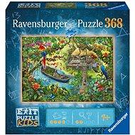 Ravensburger  129249 Exit KIDS Puzzle: Džungľa 368 dielikov - Puzzle