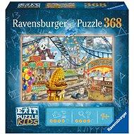 Ravensburger  129263 Exit KIDS Puzzle: Zábavný park 368 dielikov - Puzzle
