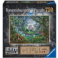 Ravensburger  150304 Exit Puzzle: Jednorožec 759 dielikov - Puzzle