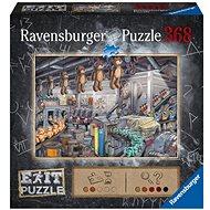 Ravensburger  164844 Exit Puzzle: V továrne na hračky 368 dielikov - Puzzle