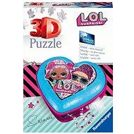 Ravensburger 3D  112333 Srdce L.O.L. 54 dielikov - Puzzle