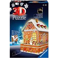 Puzzle Ravensburger 3D  112371 Perníková chalúpka (Nočná edícia) 216 dielikov - Puzzle