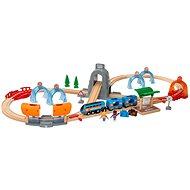 Brio World 33972 SMART TECH SOUND Cestovná sada s tunelmi - Vláčikodráha