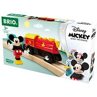 Brio World 32265 Vlak na batérie Myšiaka Mickeyho - Vláčikodráha