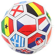 Futbalová lopta vlajky - Futbalová lopta