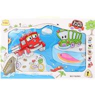 Hudobný koberec dopravné prostriedky - Hudobná hračka