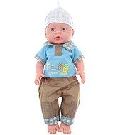 Bábätko chlapček – pohlavie chlapčeka – v sáčku - Bábika