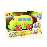 Baby autíčko autobus - Hračka pre najmenších