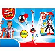 Mikrofón na batérie, s príslušenstvom (MP3, IPAD, prehrávač) - Hudobná hračka