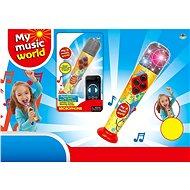 Mikrofón (IPAD, MP3) na batérie - Hudobná hračka