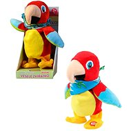 MaDe Parrot Repeating and Walking, 22cm - Plush Toy