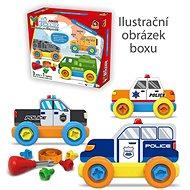 Malý mechanik plastový Junior – polícia - Stavebnica