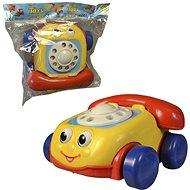 MaDe Telefón so šnúrkou, na natiahnutie, 18 cm - Ťahacia hračka