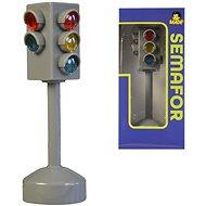 MaDe Semafor na batérie so svetlom a zvukom, 12 cm - Vzdelávacia hračka