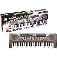 Elektronické klávesy 54 kláves šedé - Detské klávesy