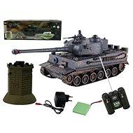 Tank RC Tiger 1:24 - RC tank na ovládanie