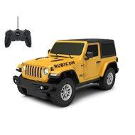 Jamara Jeep Wrangler JL 1:24 27 MHz žlté - RC auto na diaľkové ovládanie