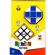 Rubikova kocka sada retro (snake + 3 × 3 × 3) - Hlavolam
