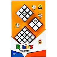 Hlavolam Rubikova kocka sada Trio (2 × 2 × 2 + 3 × 3 × 3 + 4 × 4 × 4) - Hlavolam