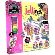 Jelli Rez dúhová bižutéria – kreatívna súprava na výrobu gélovej bižutérie - Sada na výrobu šperkov