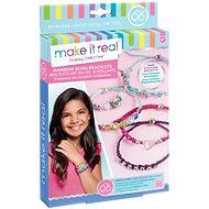 Make It Real Náramky, kamienkové - Sada na výrobu šperkov