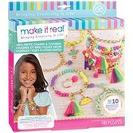Make It Real Náramky so strapcami a prstienkami - Sada na výrobu šperkov