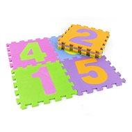 Penové puzzle Penová skladačka – čísla na podlahu, 10 dielov - Pěnové puzzle