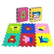 Penové puzzle Puzzle penové 6 ks – zvieratká - Pěnové puzzle