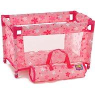 Nábytok pre bábiky Dětská postýlka pro panenky s podestýlkou
